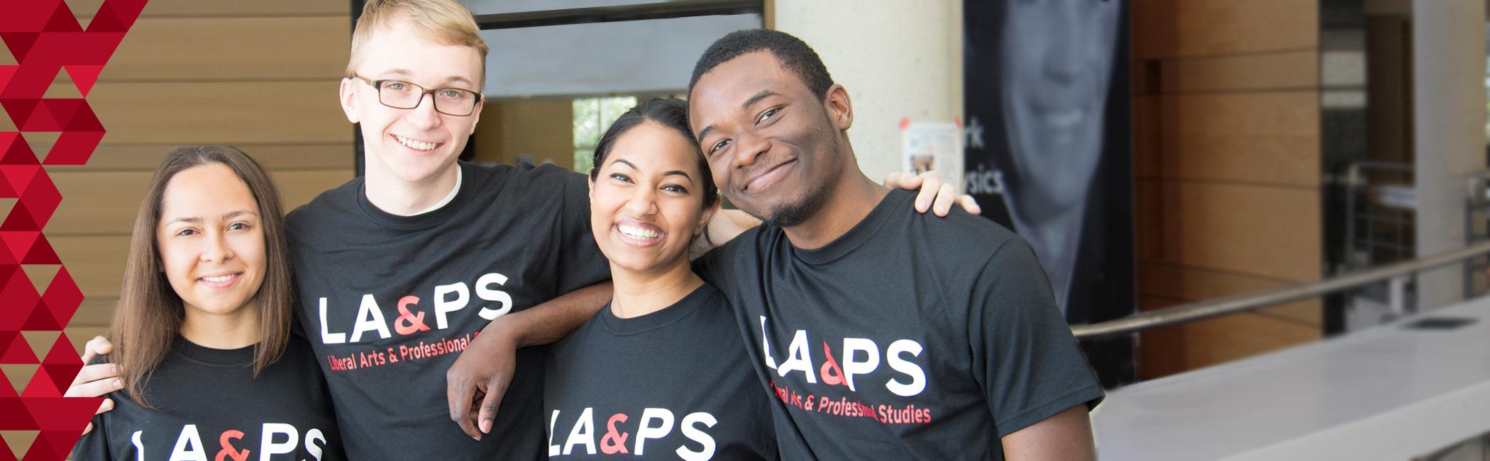 4 LA&PS Students