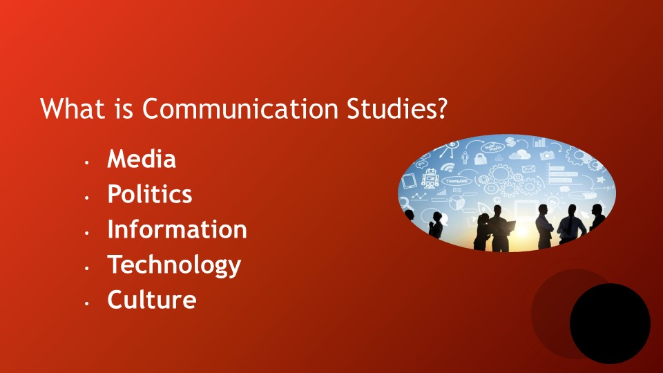 What is Communication Studies?