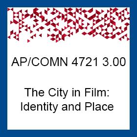<u>4721 - Taught by Professors Florence Jacobowitz & Richard Lippe</u>