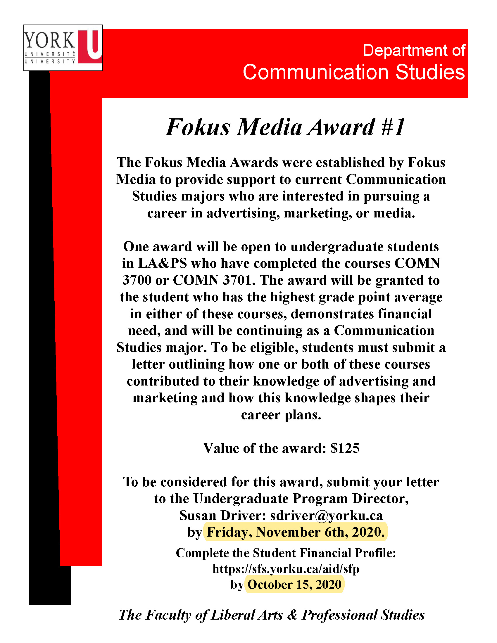 Fokus Media Award #1