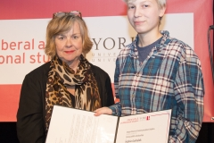 Sophia Goshulak and Mary-Louise Craven Penny Joliffe Scholarship